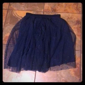Torrid NWT navy blue skirt